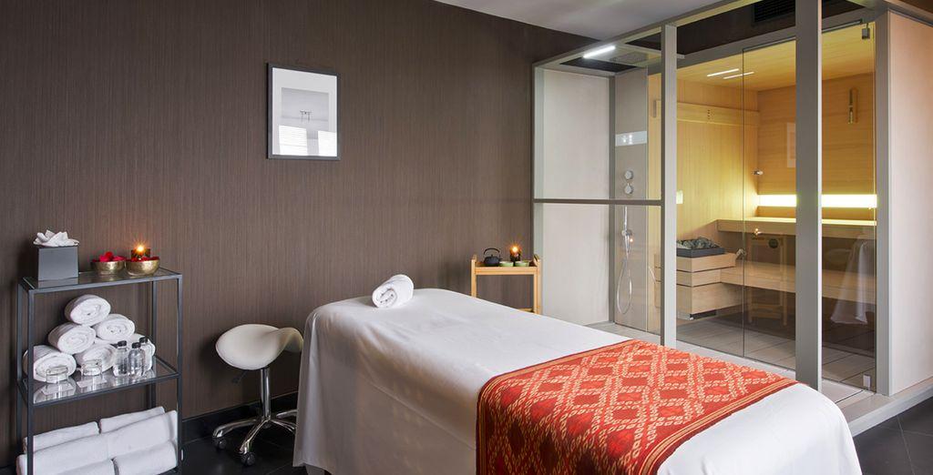 Hôtel de prestige avec espace détente et massage à Madrid