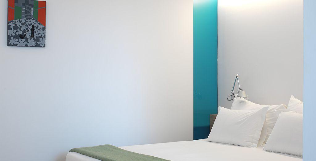 Depuis votre hôtel design & contemporain, le Fresh