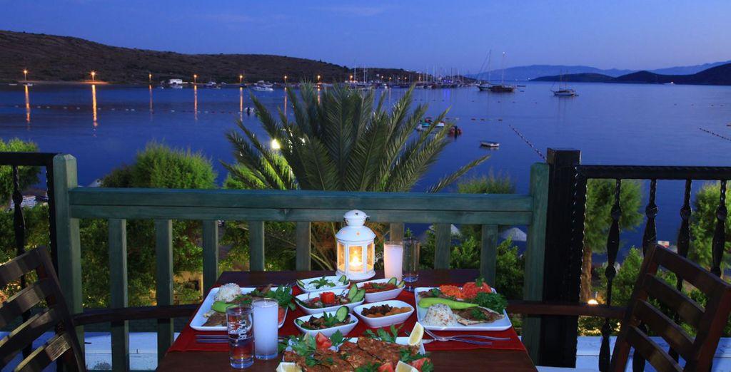 Accordez-vous une escapade gustative au restaurant à la carte Ottoman ou Italien