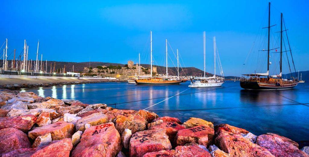 Et laissez-vous éblouir par de somptueux panoramas sur la Riviera Turque