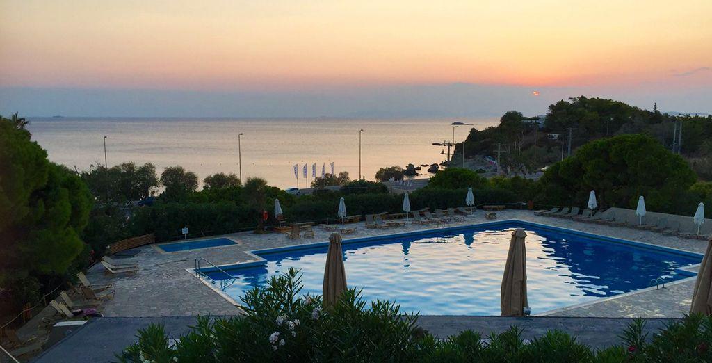 Un hôtel convivial situé au sud d'Athènes