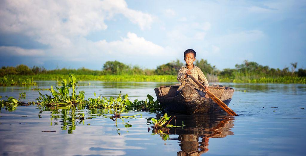 En passant par les rives du Tonlé Sap