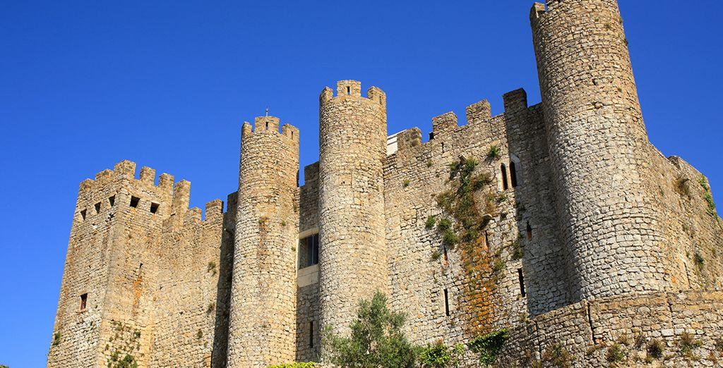 N'oubliez pas de découvrir le château d'Obidos