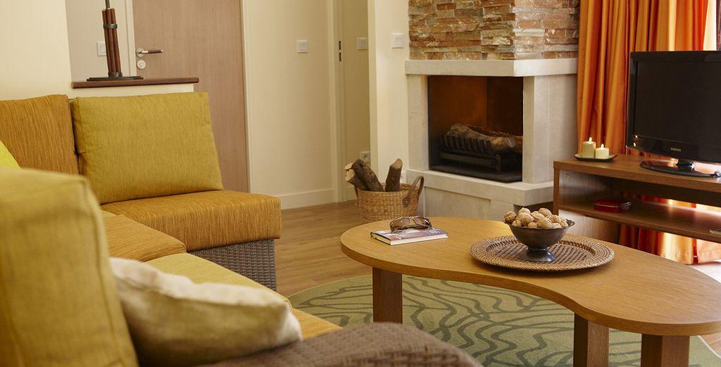 Vous apprécierez le confort de votre hébergement Premium...