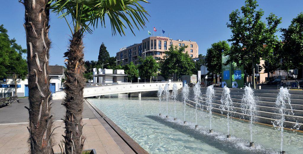 Le Movenpick Lausanne Hotel vous acceuille