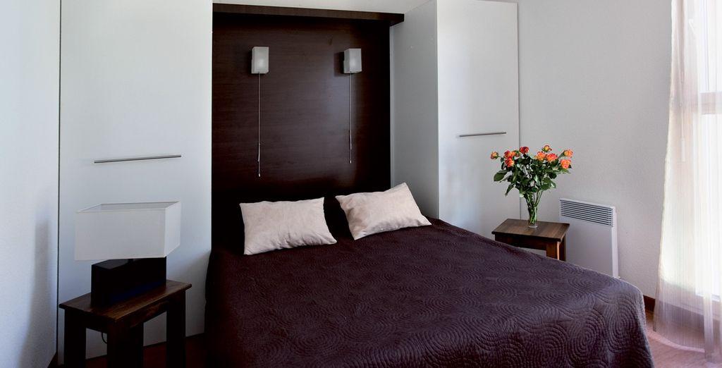 Votre chambre confortable et design...