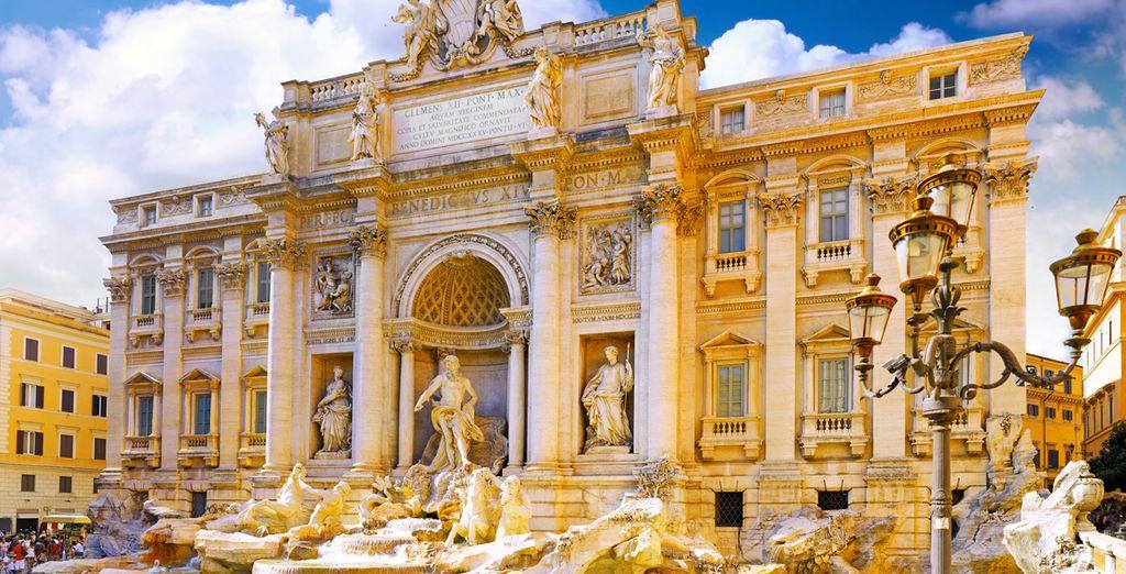 Et l'incontournable fontaine de Trevi... Vous êtes prêt ?