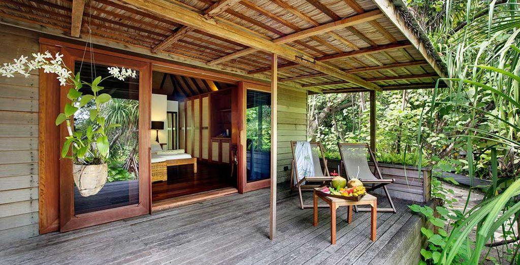 Votre terrasse privée sera l'endroit idéal pour vous détendre