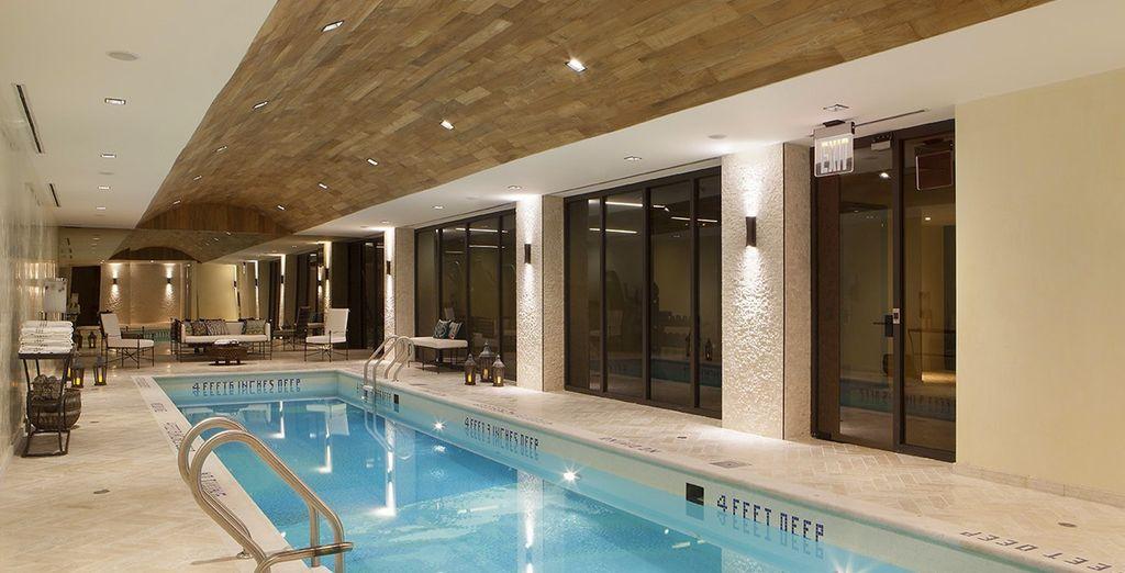 Accordez-vous un moment bien-être entre Spa, salle de sport, piscine...