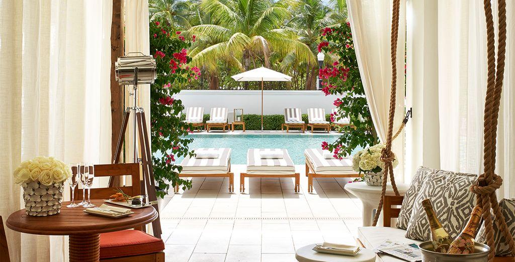 La piscine sera là pour vous rafraîchir en cas de grosse chaleur