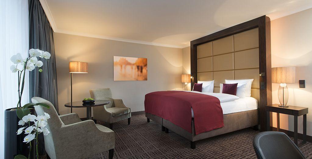 Hôtel de charme au cœur de la ville de Berlin et chambre double confort, à proximité de toutes activités