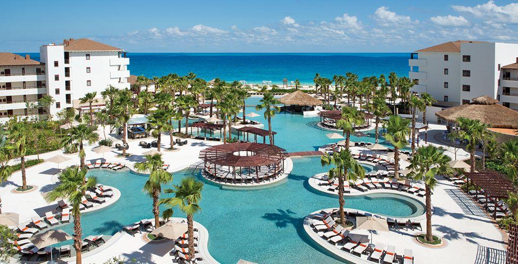 Vous allez voir, le Secrets Playa Mujeres Golf Resort & Spa 5* a tout d'un véritable Eden...