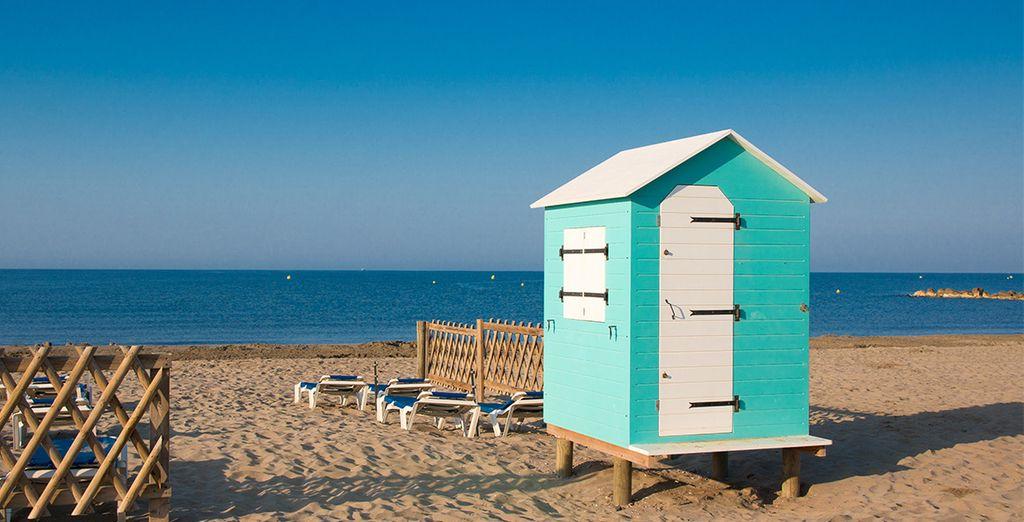 Avant de partir sur les belles plages du Cap d'Agde