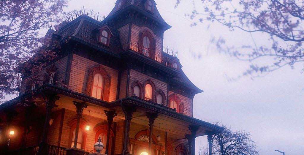 Frisson garantis au Phantom Manor !