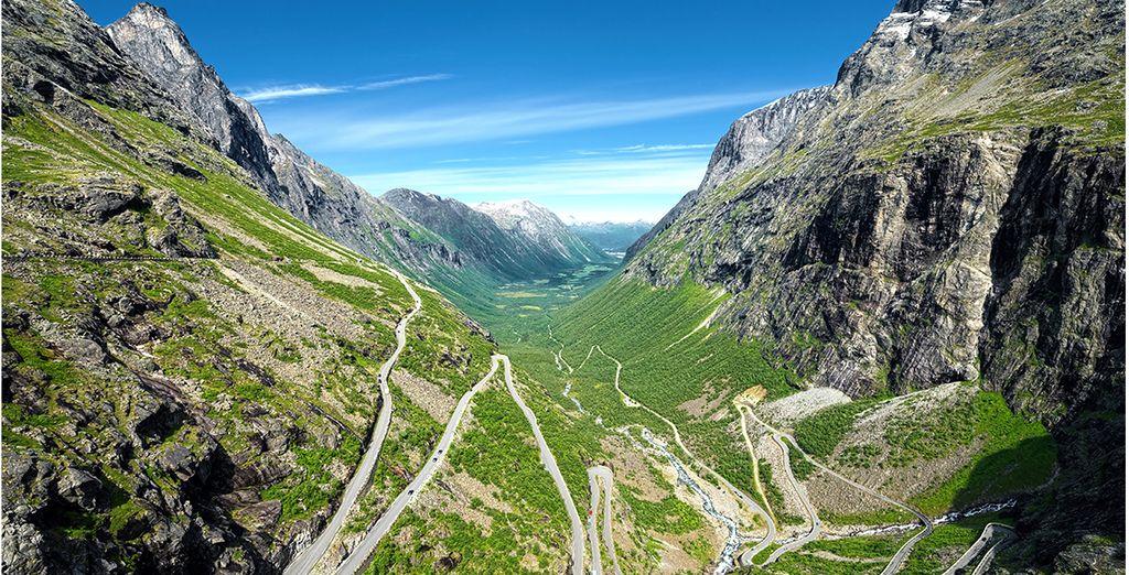 Empruntez la route de Trollstigen avec les voyages pas cher de Voyage Privé