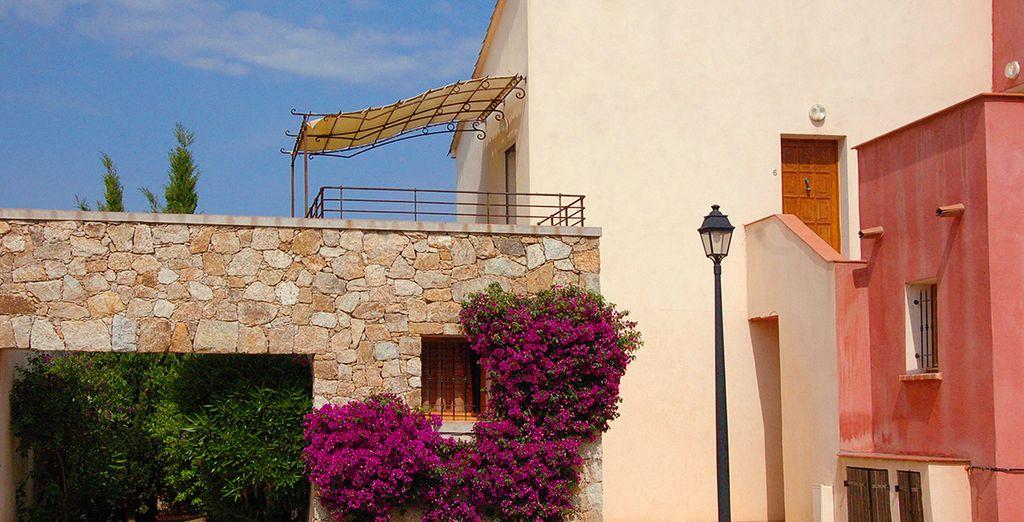 Nichée au sein de ce charmant village de Haute-Corse...