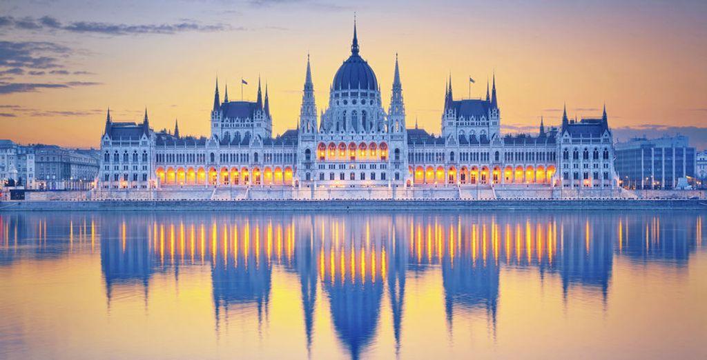 Venez découvrir les merveilles de Budapest - Hôtel Aquincum 5* Budapest
