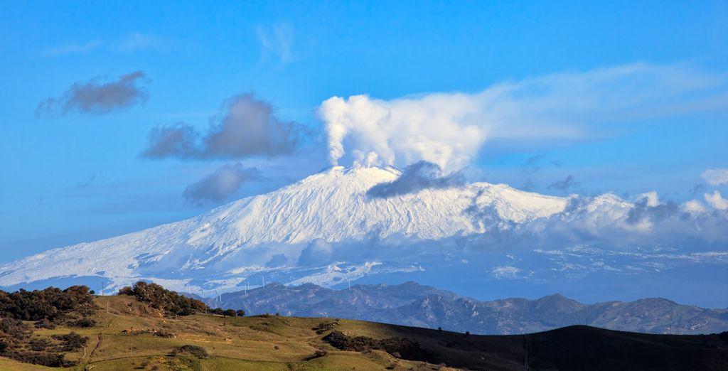 Jusqu'à l'Etna, le volcan actif le plus haut d'Europe