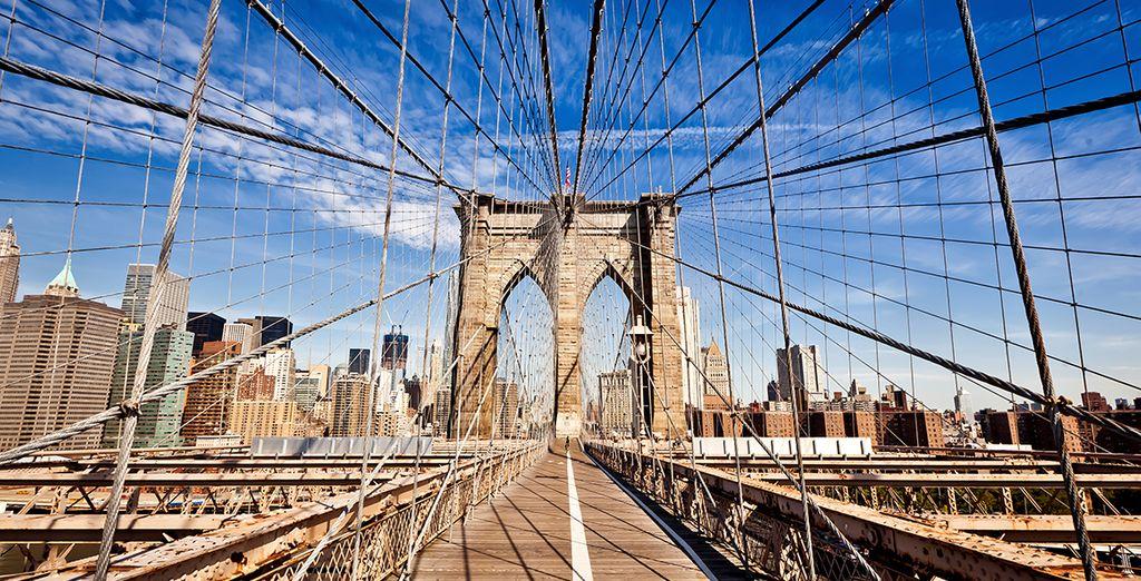 Ne ratez pas l'incontournable pont de Brooklyn*