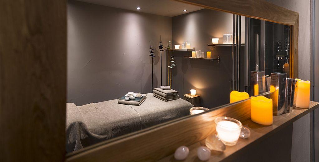 Au spa, où un massage vous fera le plus grand bien