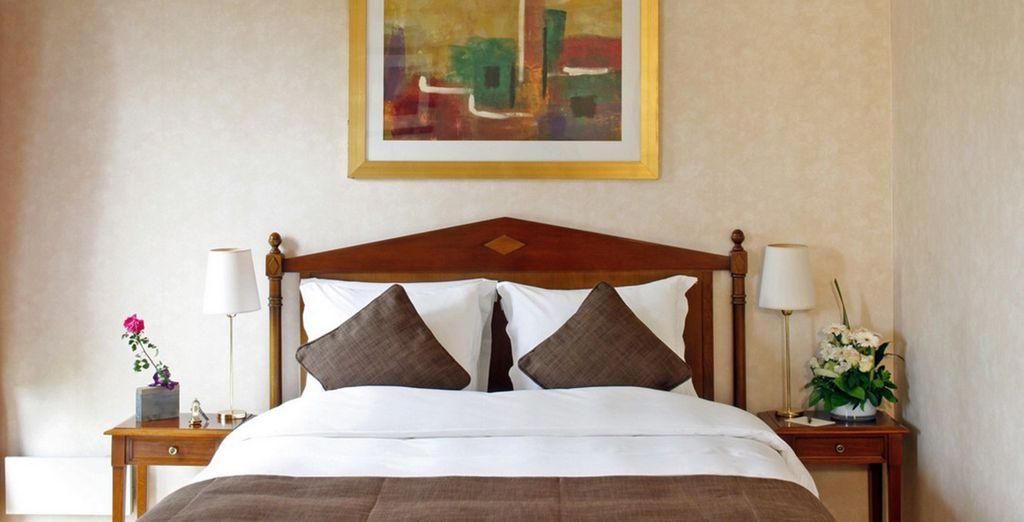 Posez vos valises en Suite Premium ou en chambre Deluxe