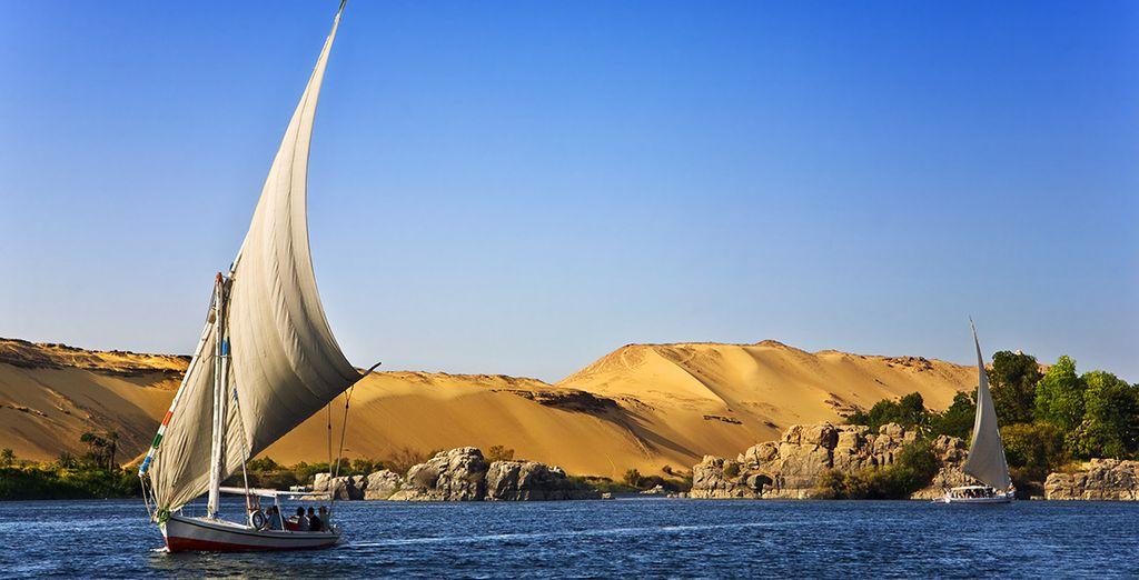 Puis partez en croisière sur le Nil