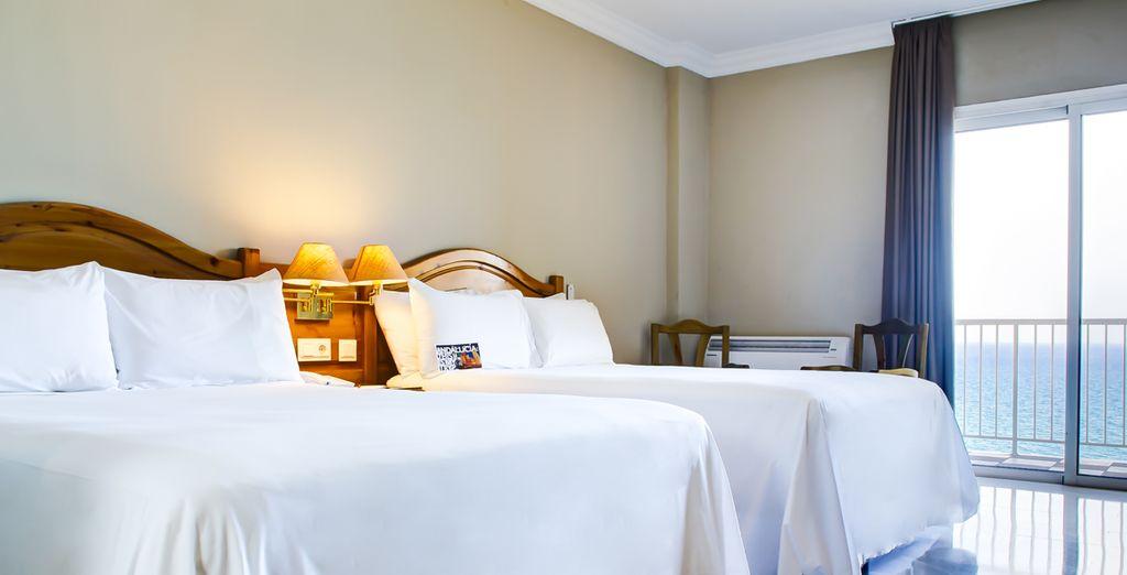 Un hôtel offrant une situation privilégiée, en bord de plage à deux pas de Malaga