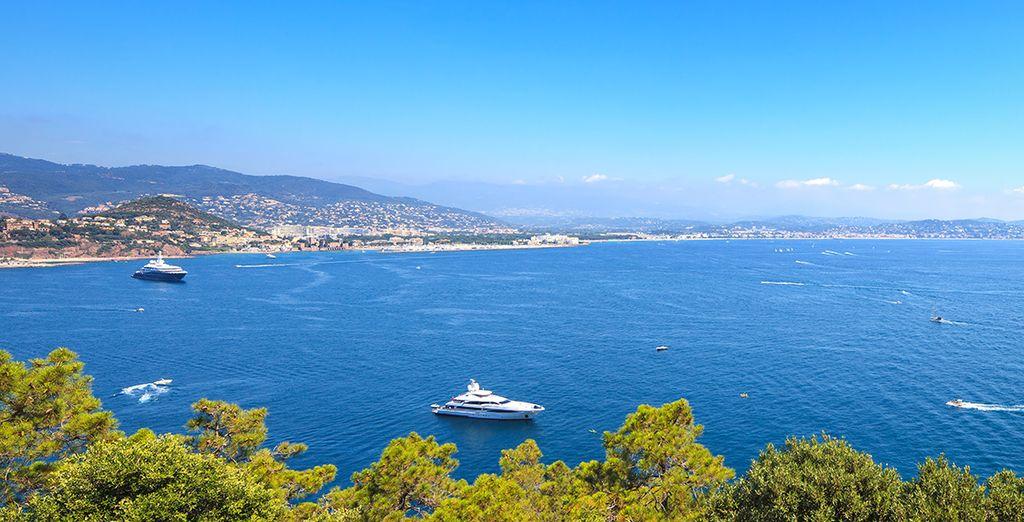 Prenez la direction de la côte d'Azur...