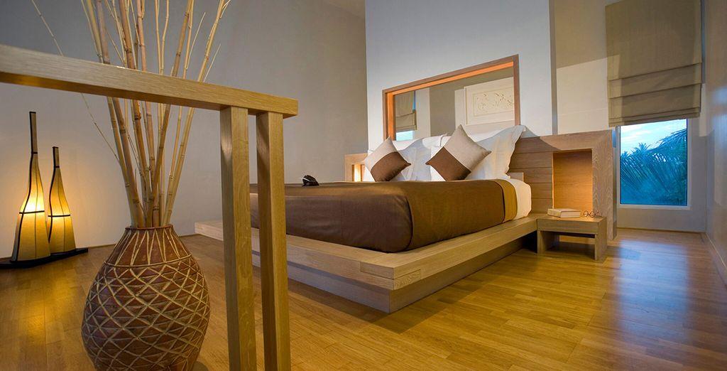 Profitez du confort d'une chambre accueillante