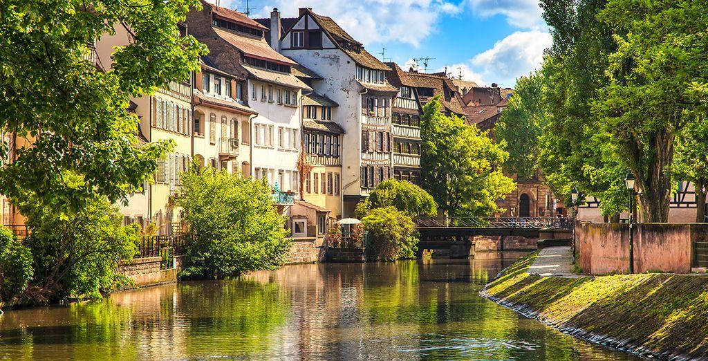 Bon séjour à Strasbourg !