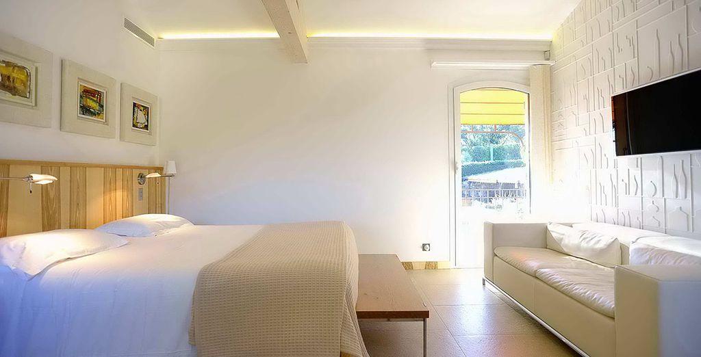 Ou en chambre Privilège, spacieuse et lumineuse