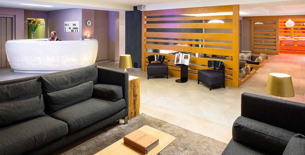 L'hôtel Nevai 4* vous accueille dans un établissement élégant
