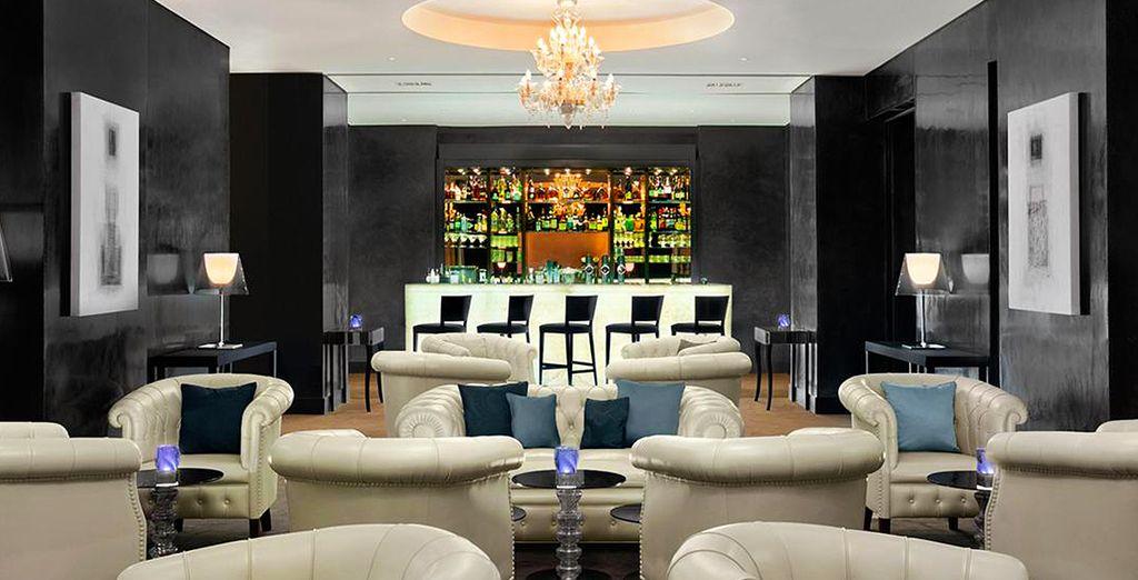 Enfin, pour terminer la soirée tranquillement, vous vous retrouverez autour d'un délicieux cocktail