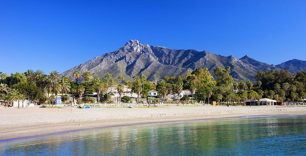 Puis direction Marbella et ses sublimes plages