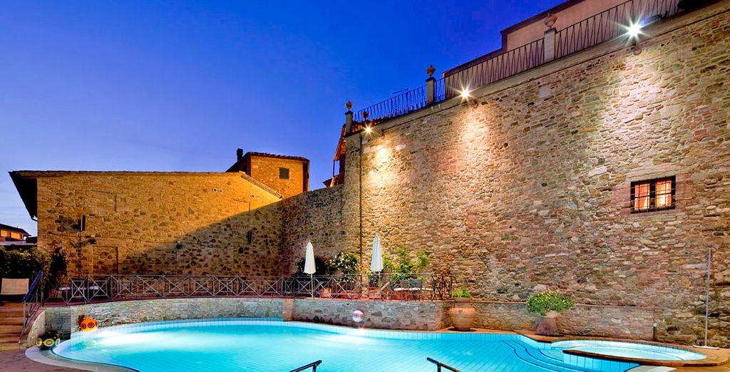 Poussez les portes d'une demeure de charme - Hôtel Una Palazzo Mannaioni 4* Montaione