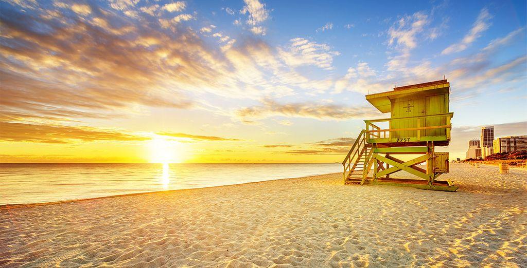 Baladez-vous sur les magnifiques plages de South Beach