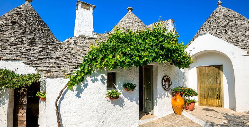 Les petites maisons de Trulli