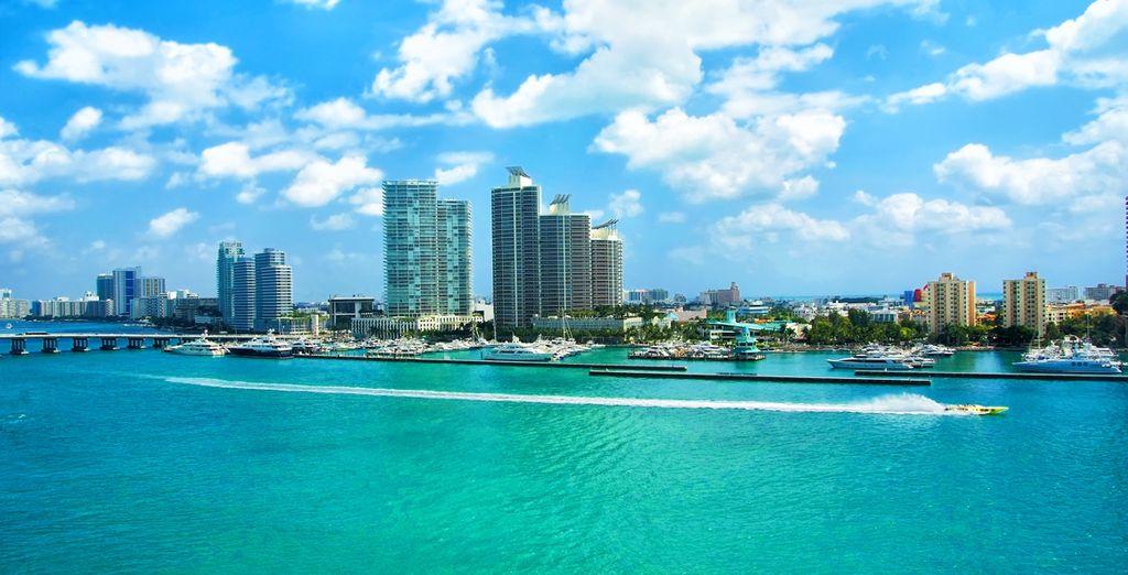 Prenez la direction de la célébre Miami Beach