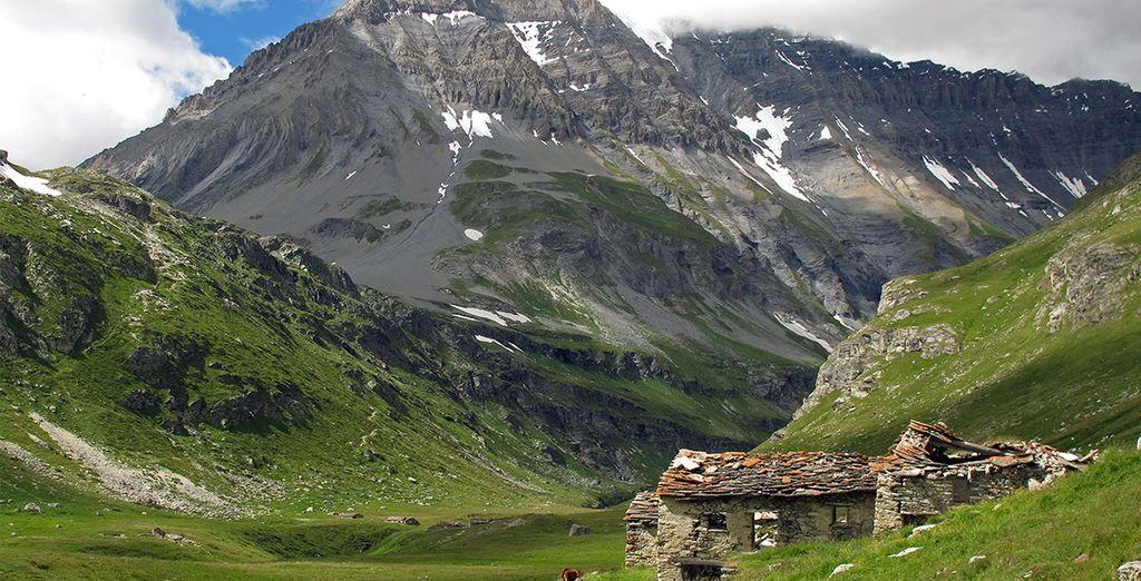 Pour rejoindre le parc national de de la Vanoise