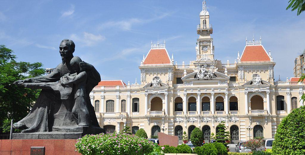 Jusqu'à Ho Chi Minh City (Saigon)