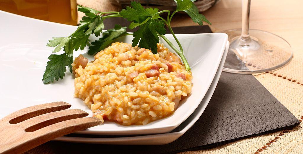 Et succombez à la gastronomie italienne