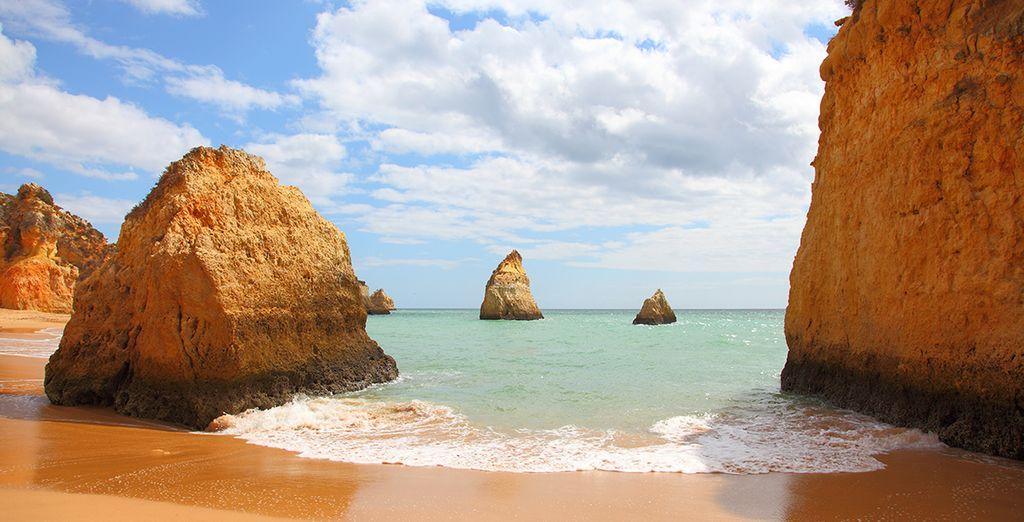Et les sublimes plages d'Algarve !