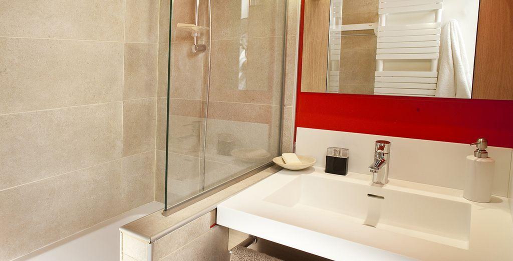 & la salle de bains élégante !
