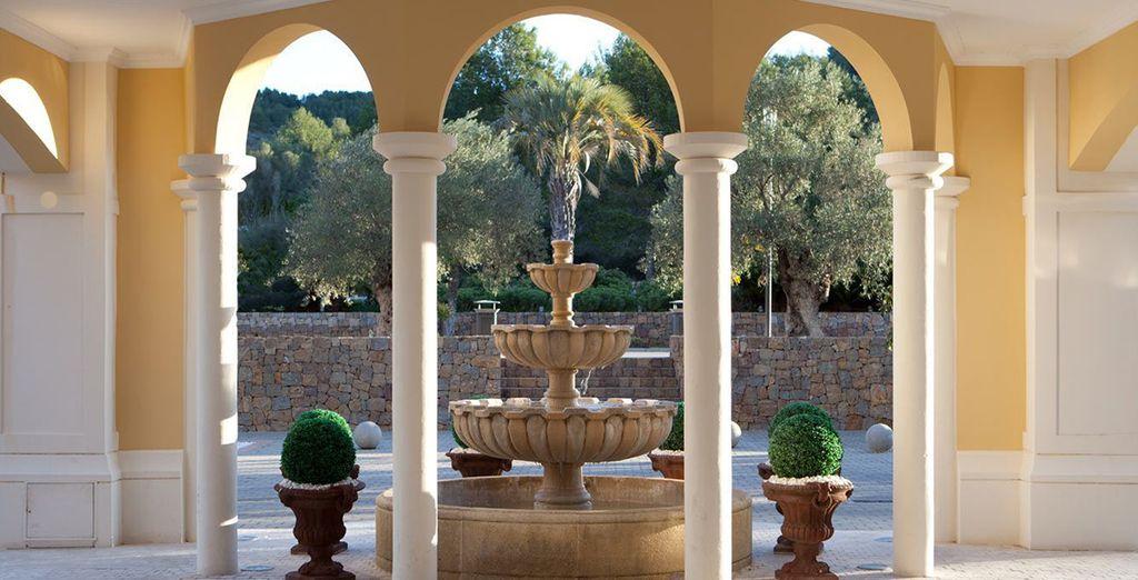 Un hôtel luxueux entre Alicante et Valence
