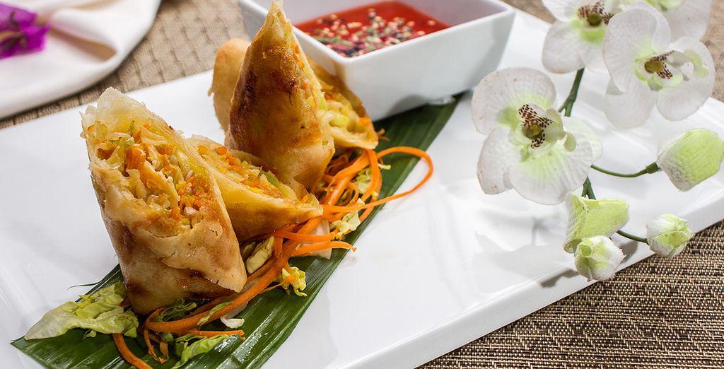 Testez de nouvelles saveurs dans l'ambiance chic du restaurant Segaria Thaï
