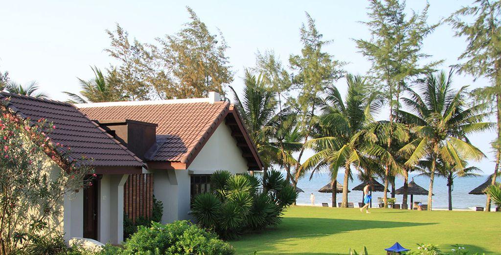 D'ailleurs, c'est au Palm Garden Resort Hoi An que vous séjournerez