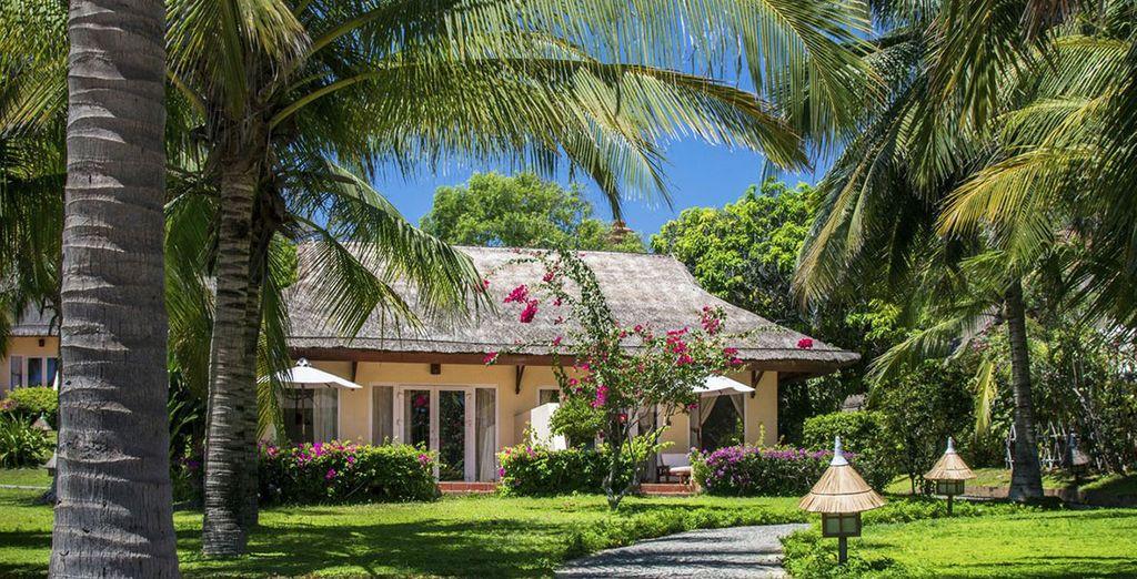 Nous vous y avons d'ailleurs déniché un agréable petit bungalow