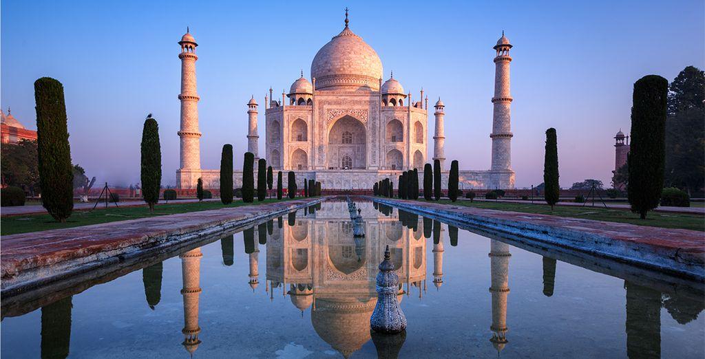 Une terre merveilleuse comme sortie d'un songe, à l'image de son chef d'œuvre : le Taj Mahal