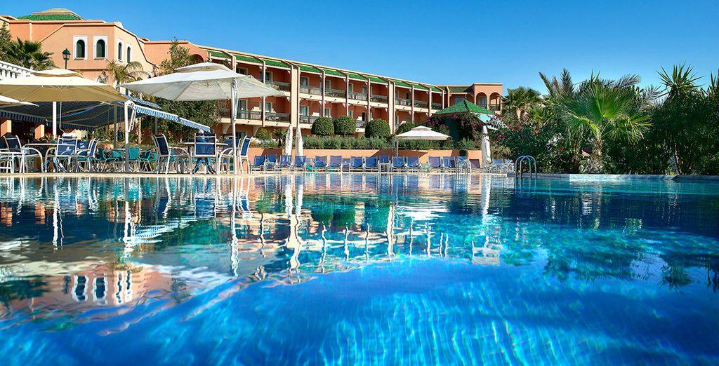 Offrez-vous une oasis de luxe 5*... - Hôtel Palmeraie Palace 5* Marrakech