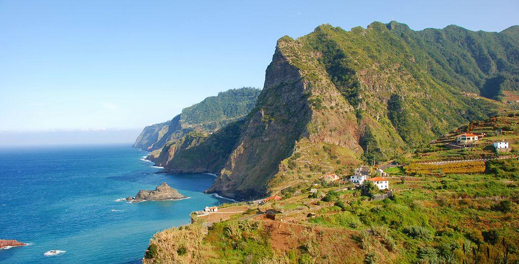 Sur la belle île de Madère - Hôtel The Vine 5* Funchal